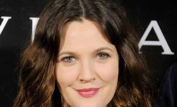 drew barrymore relishes family life