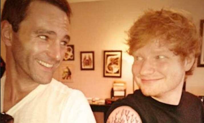 ed sheeran among messiest people says johnny mcdaid