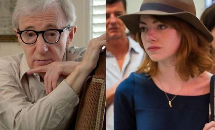 emma stone in woody ellen s next