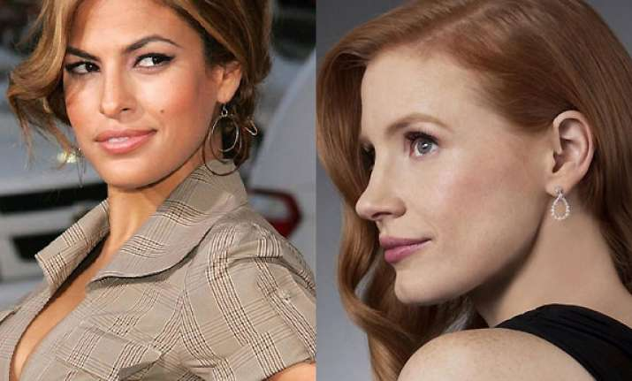 eva mendes having one sided rivalry with jessica chastain