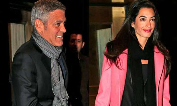 george clooney s fiancee thought proposal was a prank