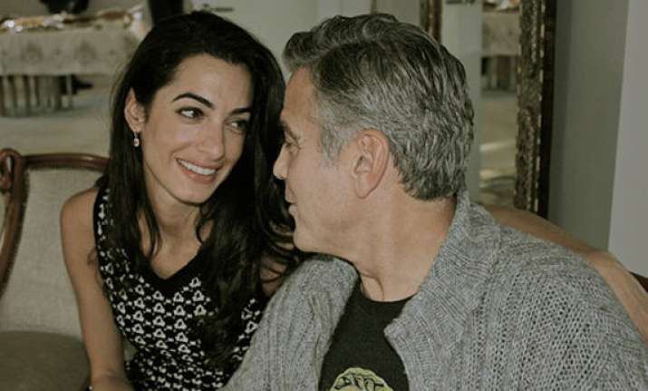 george clooney engaged dad thrilled