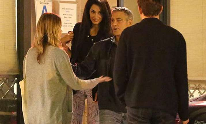 george clooney sent fiancee series of flirty emails
