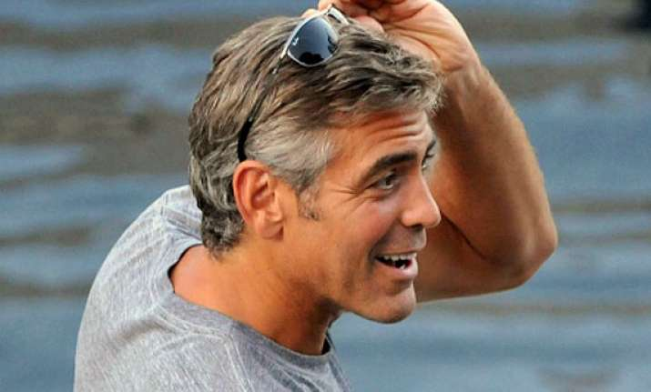 george clooney suffers wedding jitters