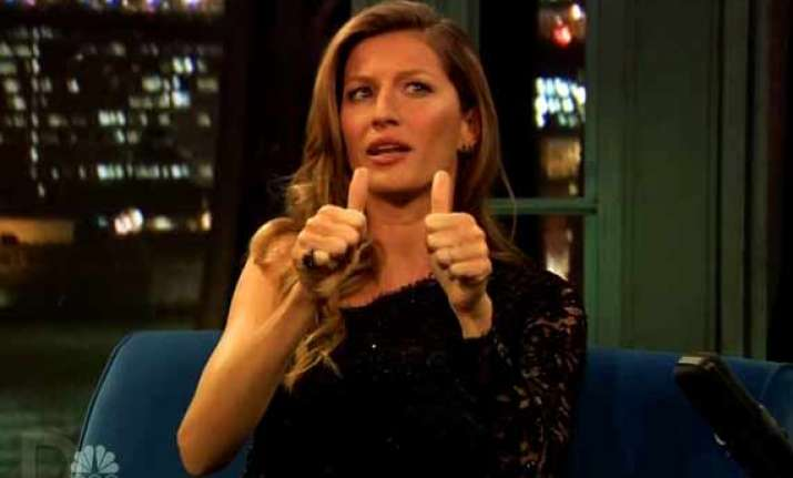 gisele bundchen wants to be a backup dancer