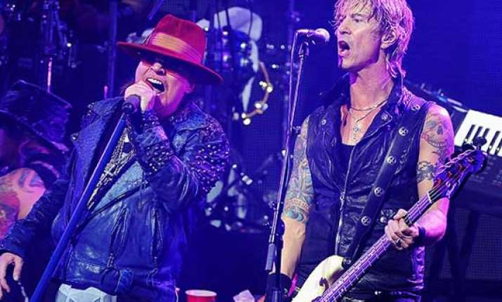 guns n roses to release next album in 2015