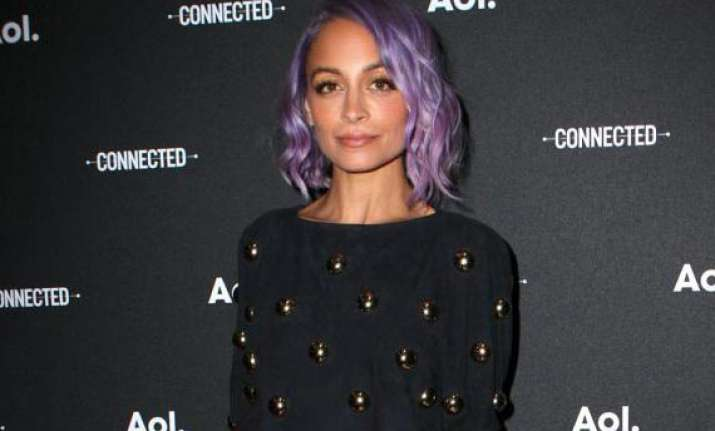 harlow dyes her hair too nicole richie