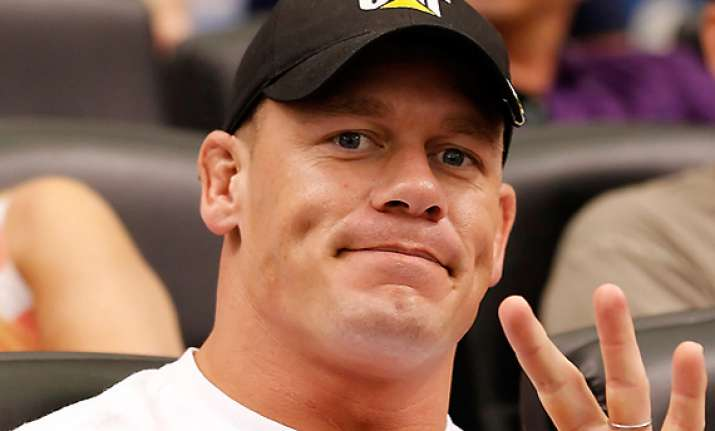 hoodies not a problem for wwe star john cena
