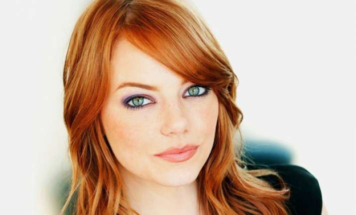 does emma stone have a secret social media account