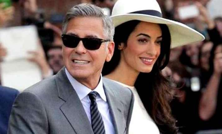 why is george clooney scared of his wife amal alamuddin