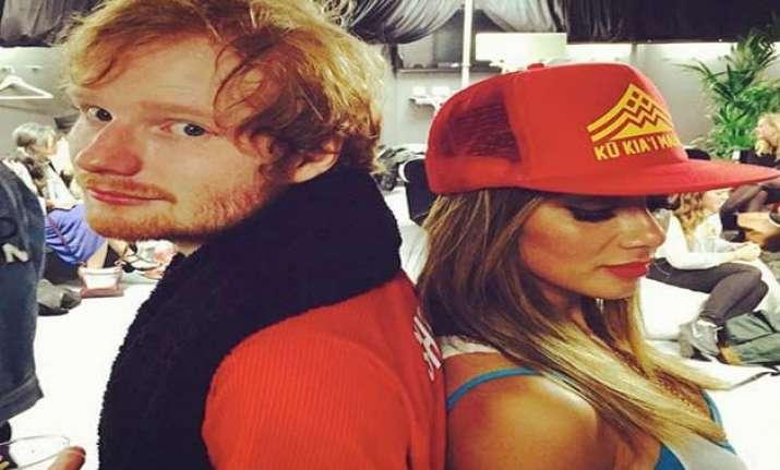 ed sheeran reportedly dating nicole scherzinger