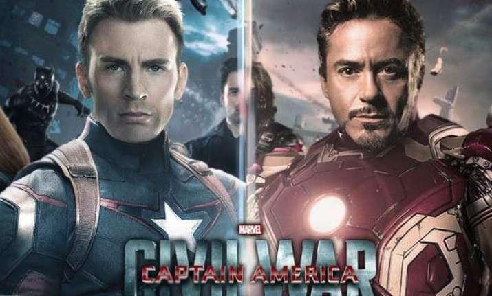 captain america iron man have chosen their teams for civil