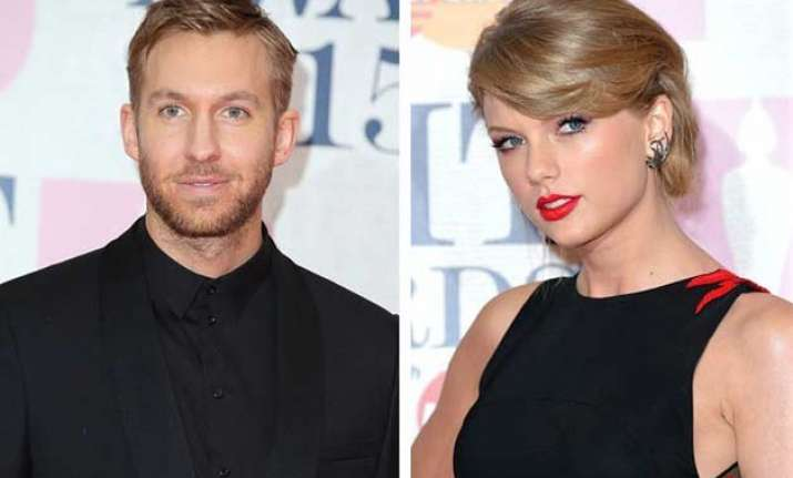 taylor swift calvin harris spotted together