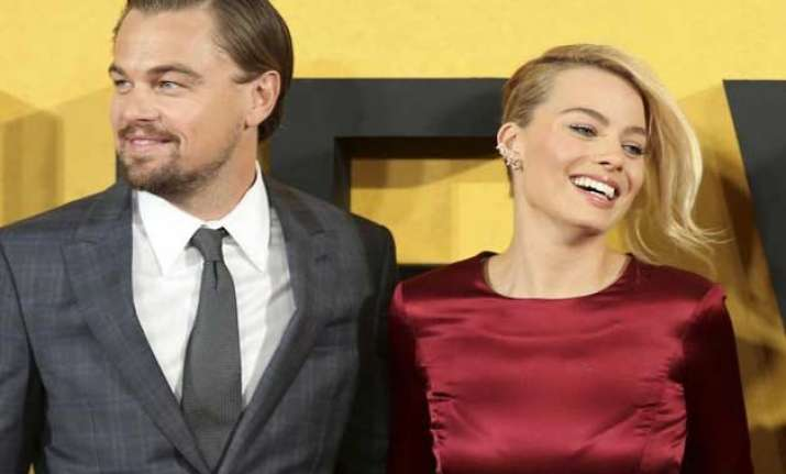margot robbie slapped dicaprio during the wolf of wall