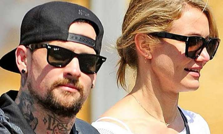 cameron diaz and benji madden married in la