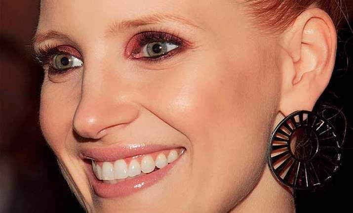 jessica chastain had dropped out of high school