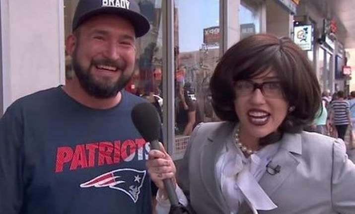 miley cyrus turns reporter to find out what people think