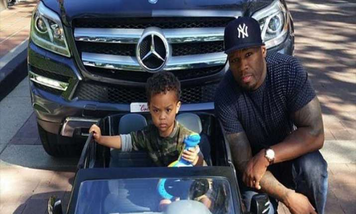 50 cent s son sire hits the ramp