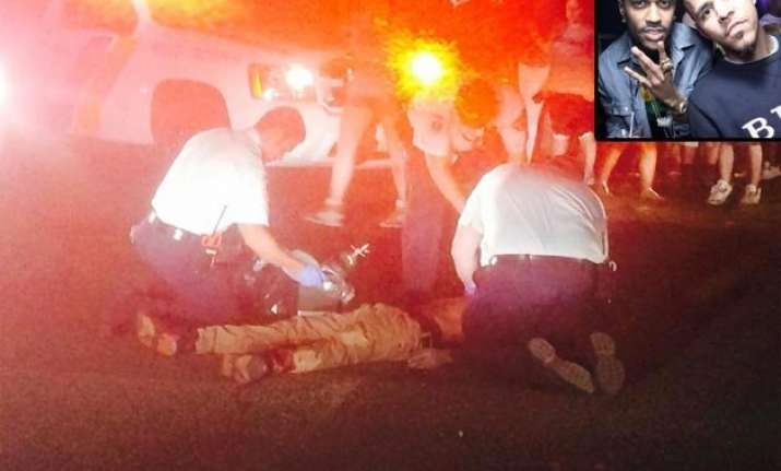 gunshots fired outside j. cole big sean s concert