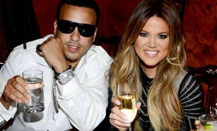 khloe kardashian french montana spotted together in miami
