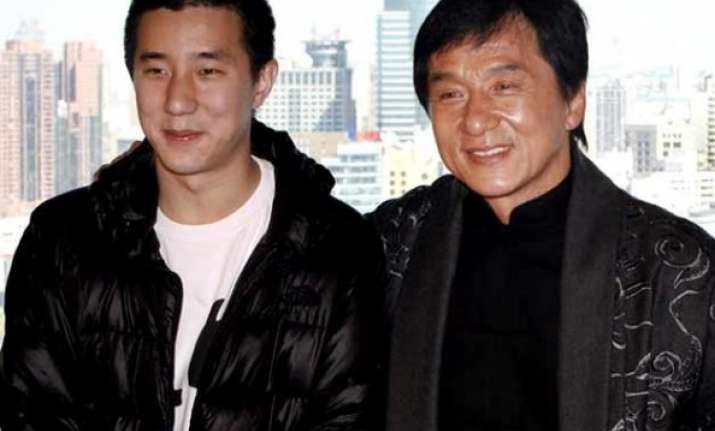 jackie chan s son gets six months jail