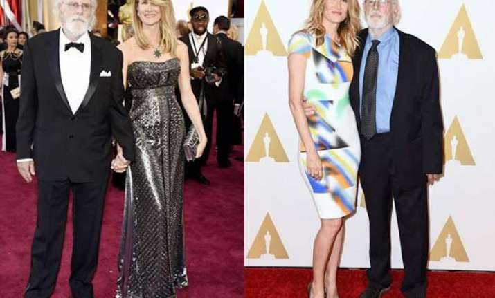 oscars 2015 father daughter oscar date for bruce and laura