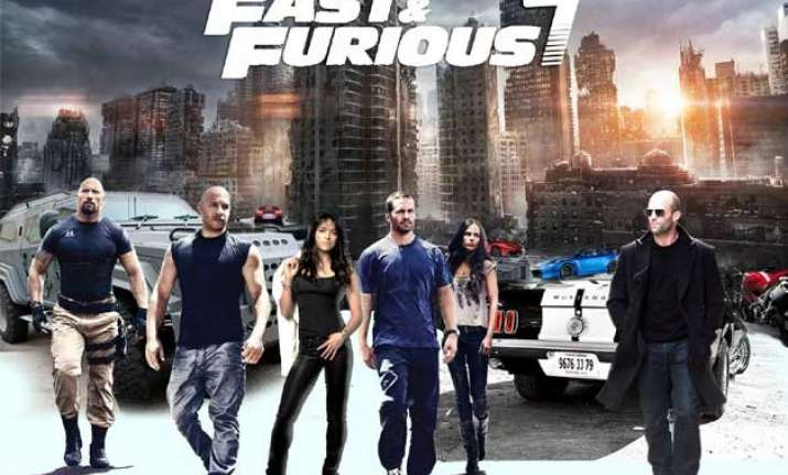 fast and furious 7 records highest grossing global opening