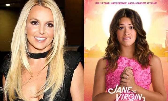 britney spears gives goosebumps to jane the virgin