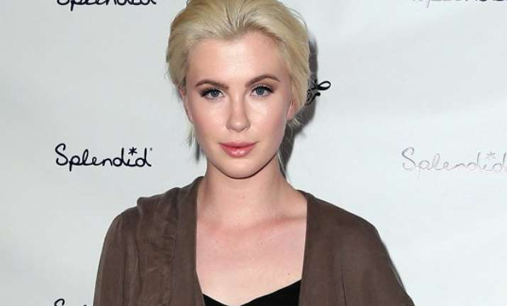 ireland baldwin mocks pig insult