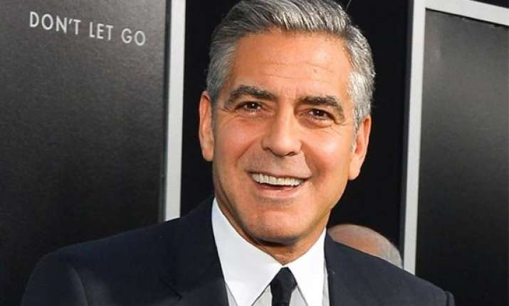 george clooney s conversation with executive leaked in sony