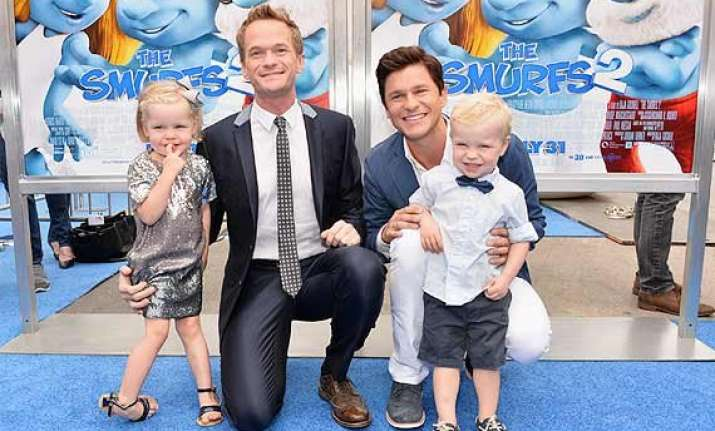 who s my kid among the twins neil patrick harris indifferent