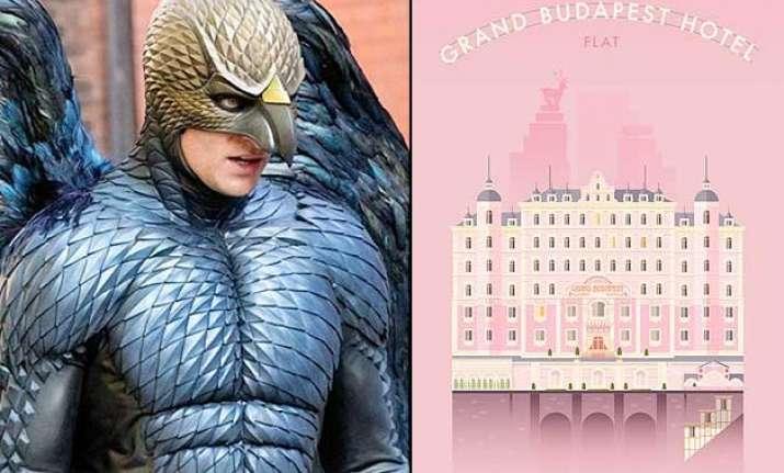 oscars 2015 birdman the grand budapest hotel rule the