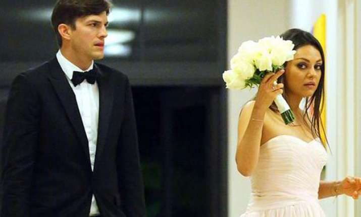 did ashton kutcher and mila kunis marry secretly