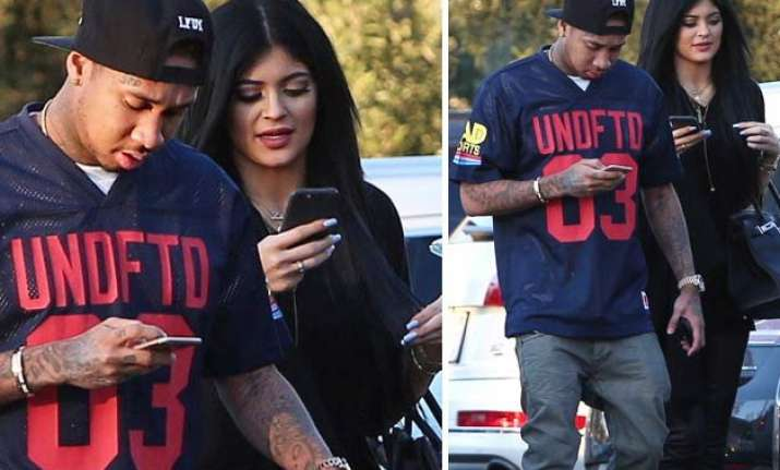 kylie jenner tyga are in love kanye west