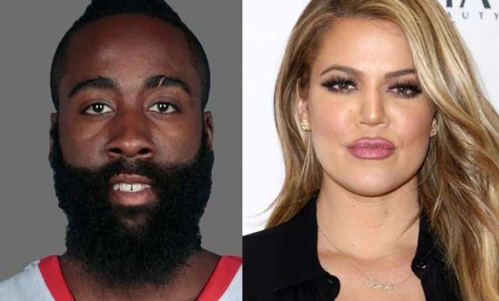 spotted khloe kardashian and nba star james harden on a