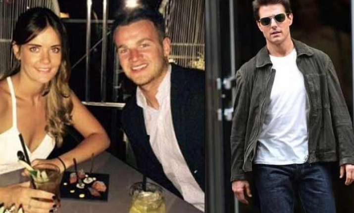 tom cruise s assistant goes public with her boyfriend