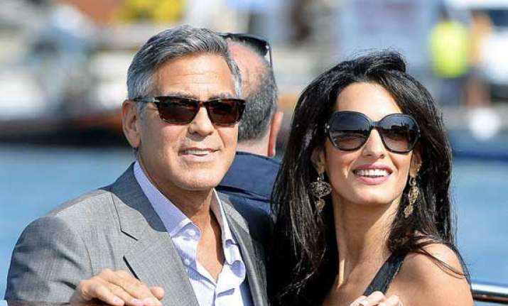 george clooney to throw another wedding bash
