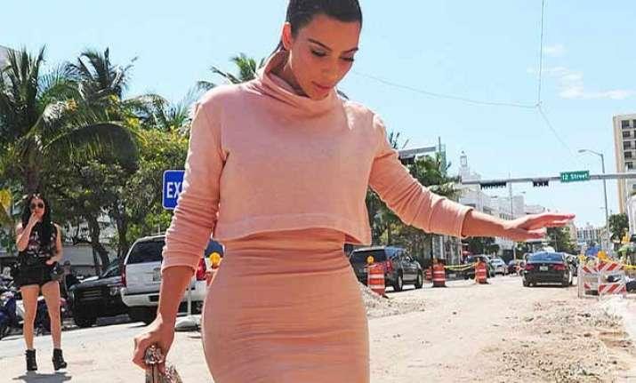 kim kardashian didn t want limelight during pregnancy