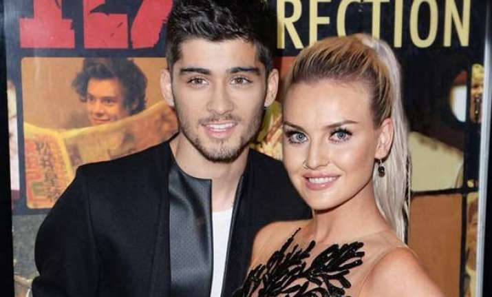perrie edwards is happy with zayn malik s decision to quit