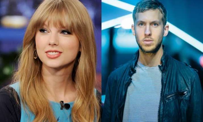 calvin harris insanely happy with taylor swift