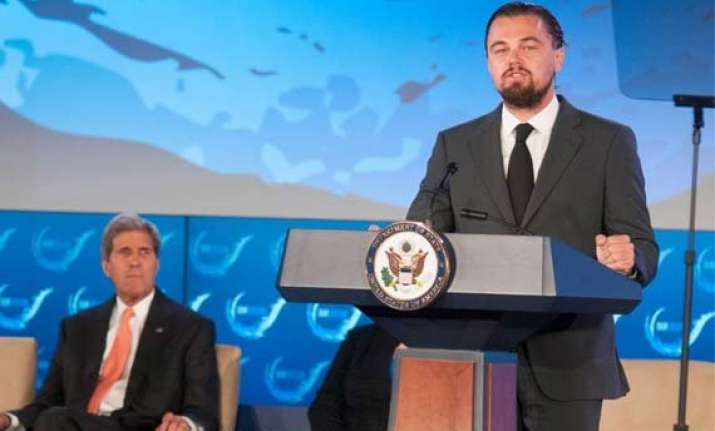 dicaprio announces 2 mn donation to oceans 5