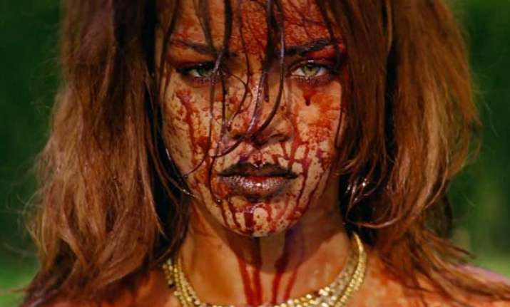 rihanna is tormenting a woman in latest music video watch