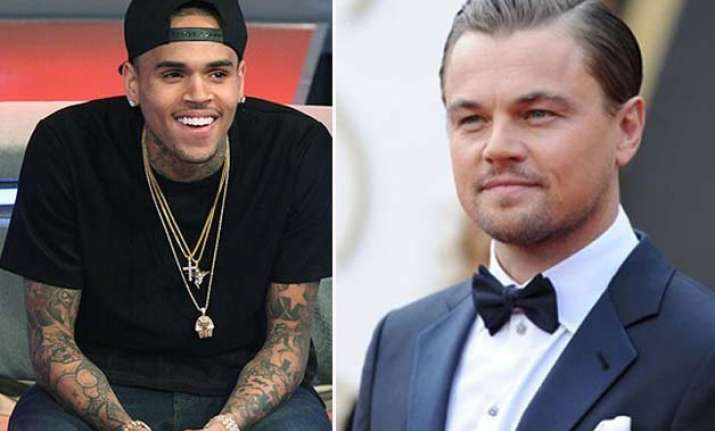 chris brown not jealous of dicaprio