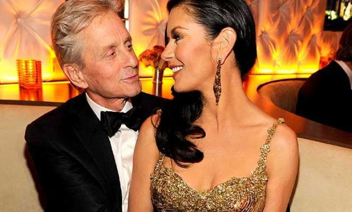 michael douglas gushes over catherine zeta jones