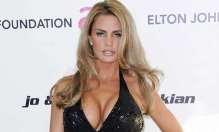 katie price dons naughty fairy look to promote book