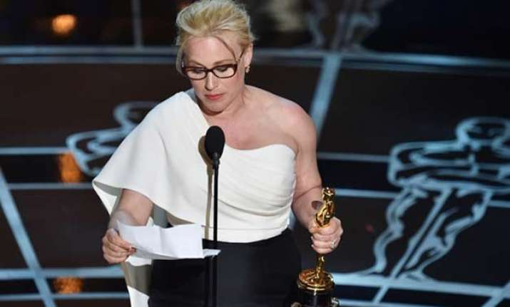 patricia arquette defends oscar speech