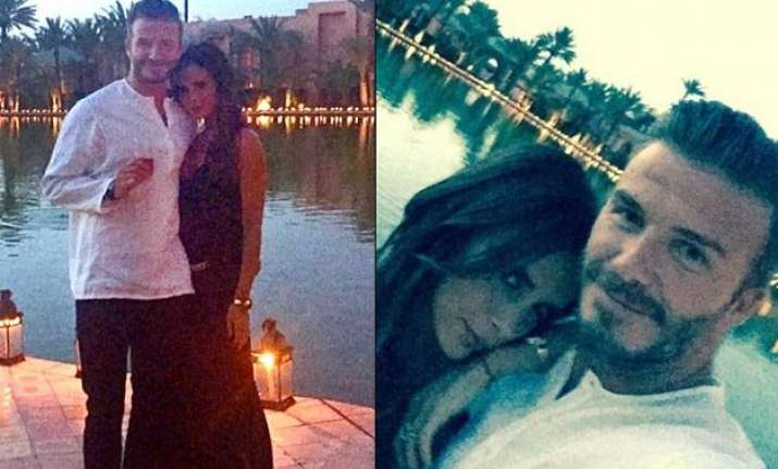 david beckham 40th birthday celebrations see pics