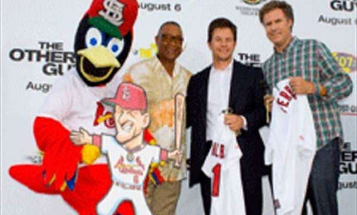 ferrell cop comedy set to grab box office crown