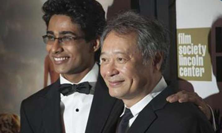 indian suraj sharma is lead actor in ang lee s shipwreck