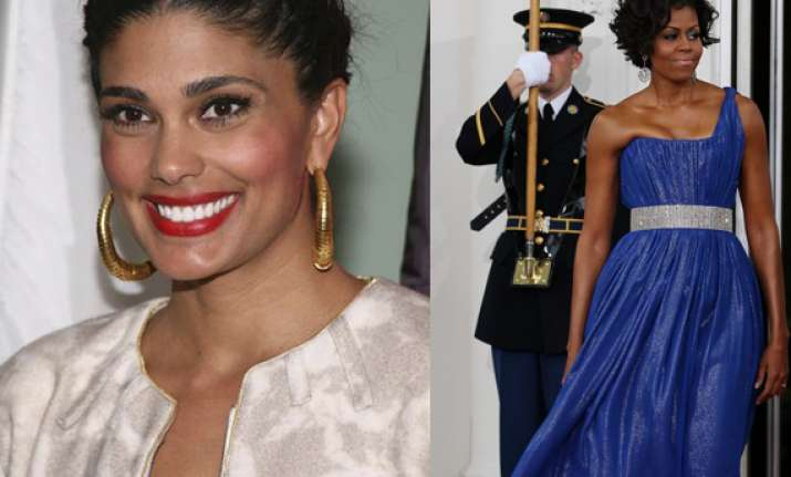 indo american designer rachel roy dresses up michelle obama